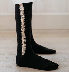 JRP JRP Feather Stripe Knee Sock