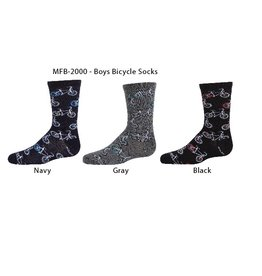 Memoi Memoi Boys Bicycle Sock