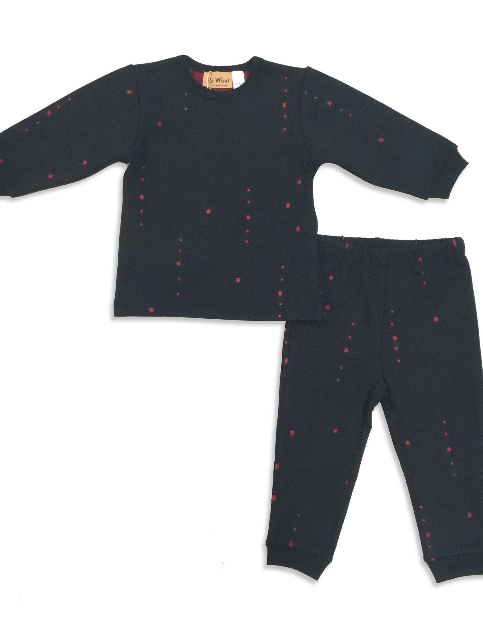 So What So What Die Cut Stars Pajama