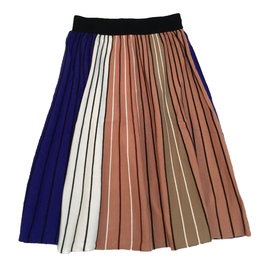 UNCLEAR Unclear Multicolor Striped Skirt