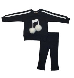 So What So What Musical Note 2 Piece Set