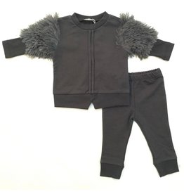 FIVE STAR Five Star 2 Piece Set with Fur Shoulders
