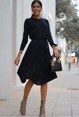 Daniella Faye Daniella Faye Asymetrical Belted Dress