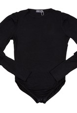 UNCLEAR Unclear Bodysuit with Bubble Sleeve