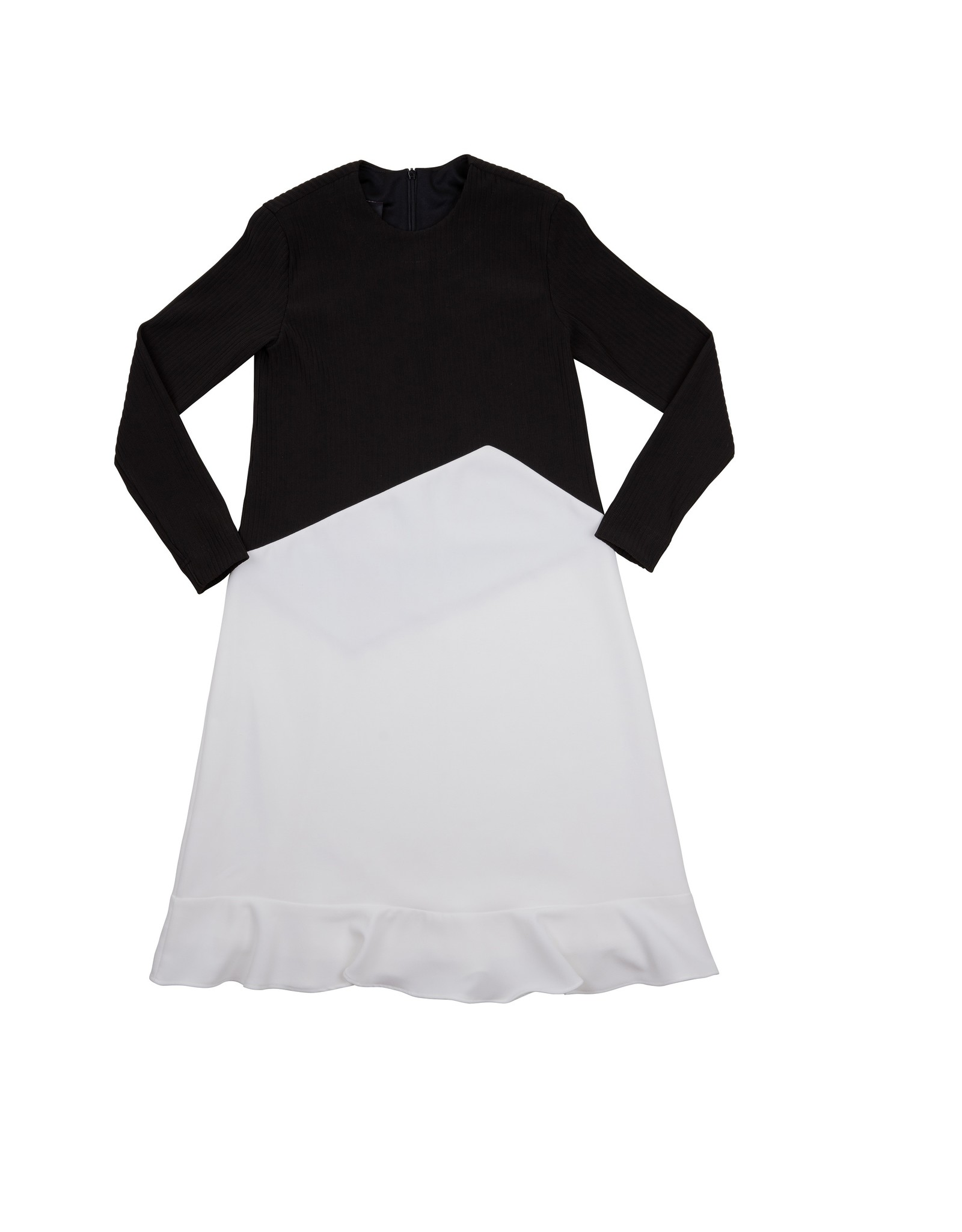 MI Collection MI Collection Flare Combo Black/White Dress