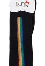 Blinq Blinq Rainbow Strip Knee Sock