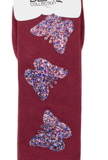 Blinq Blinq Glitter Butterfly Patch Knee Sock