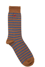 Condor Condor Mens Striped Sock with Embroidered Condor