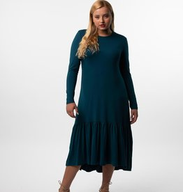 Havah Tribe Havah Tribe High Low Teal Dress