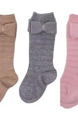 Condor Condor Knee Sock with Knit Bow