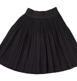 Sciacca Sciacca Black Pleated Skirt