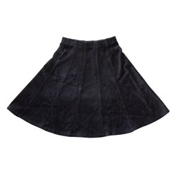 FIVE STAR Five Star Velour Panel Skirt