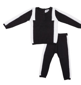 Milk Milk 2 Piece Set with Ribbed Detail