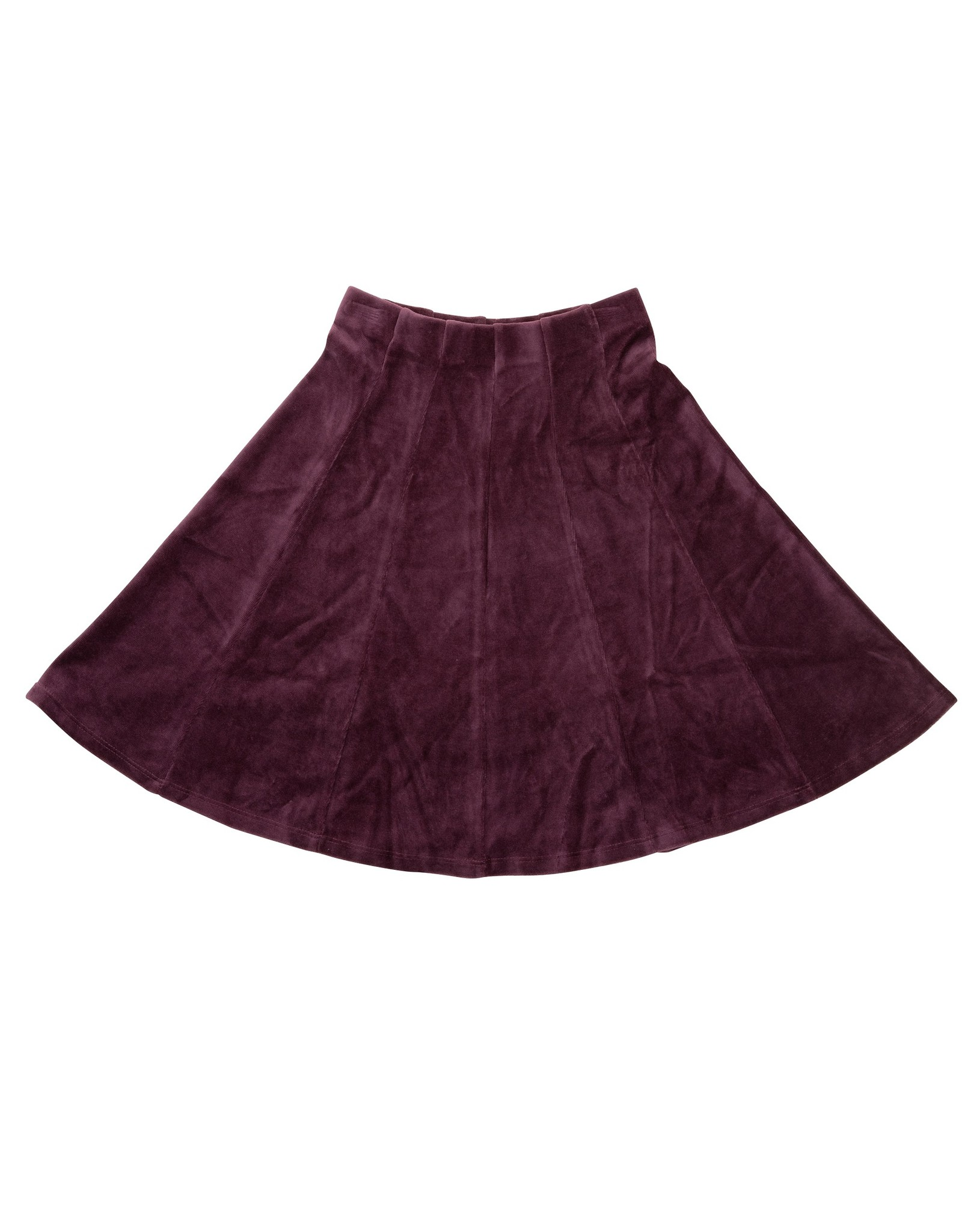 FIVE STAR Five Star Velour Panel Skirt