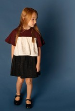 Clo Clo Tiered Flutter Sleeve Dress