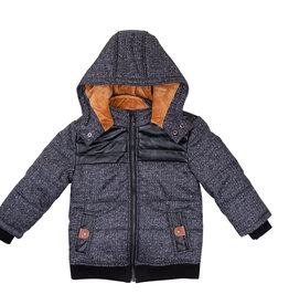 Siccinino Siccinino Boys Heather Puffer Coat