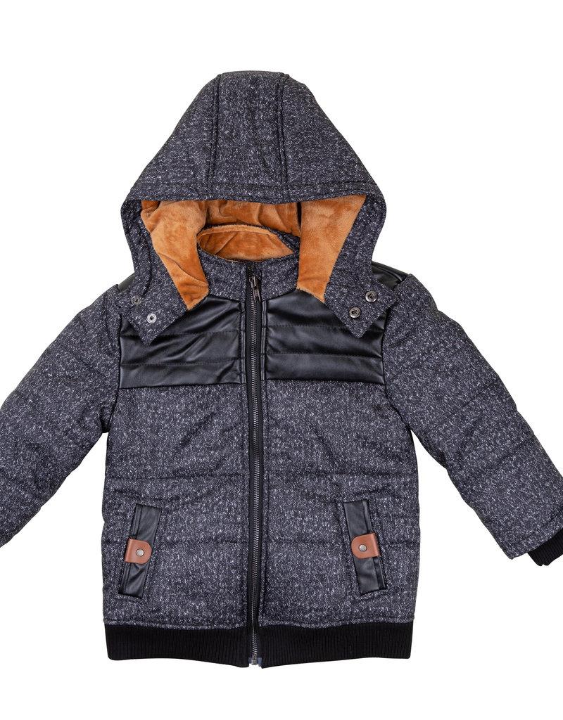 Siccinino Siccinino Boys Heather Puffer Coat