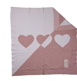 FRAGILE Fragile Heart/Star Knit Blanket