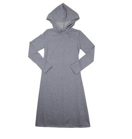 Bella Donna Bella Donna Sweatshirt Hooded Aline Dress