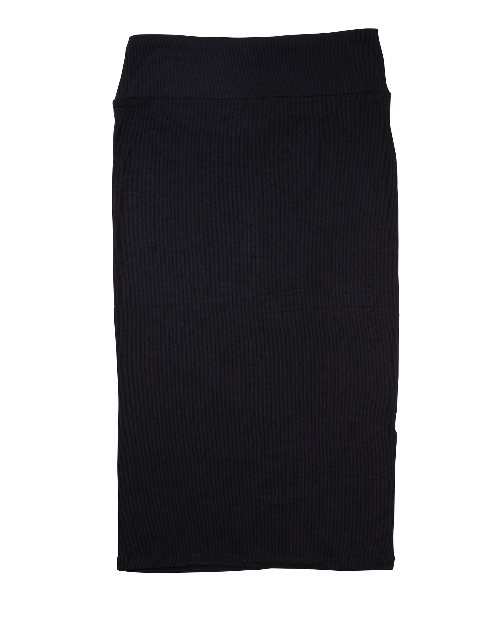 Daniella Faye Daniella Faye Modal Ribbed Set (Skirt/Top)