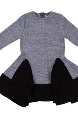Tiffany Tiffany Two Tone Dress with Triangle Cuts
