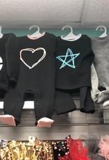 HideNSeek HideNSeek Outline Heart/Star Pajama
