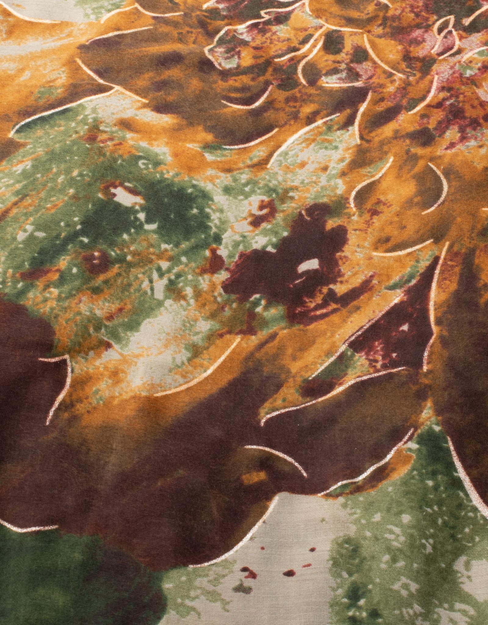 Cherie Cherie Printed Scarf Pretied