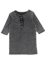 LIL LEGS SS20 3/4 Sleeve Center Button T-Shirt