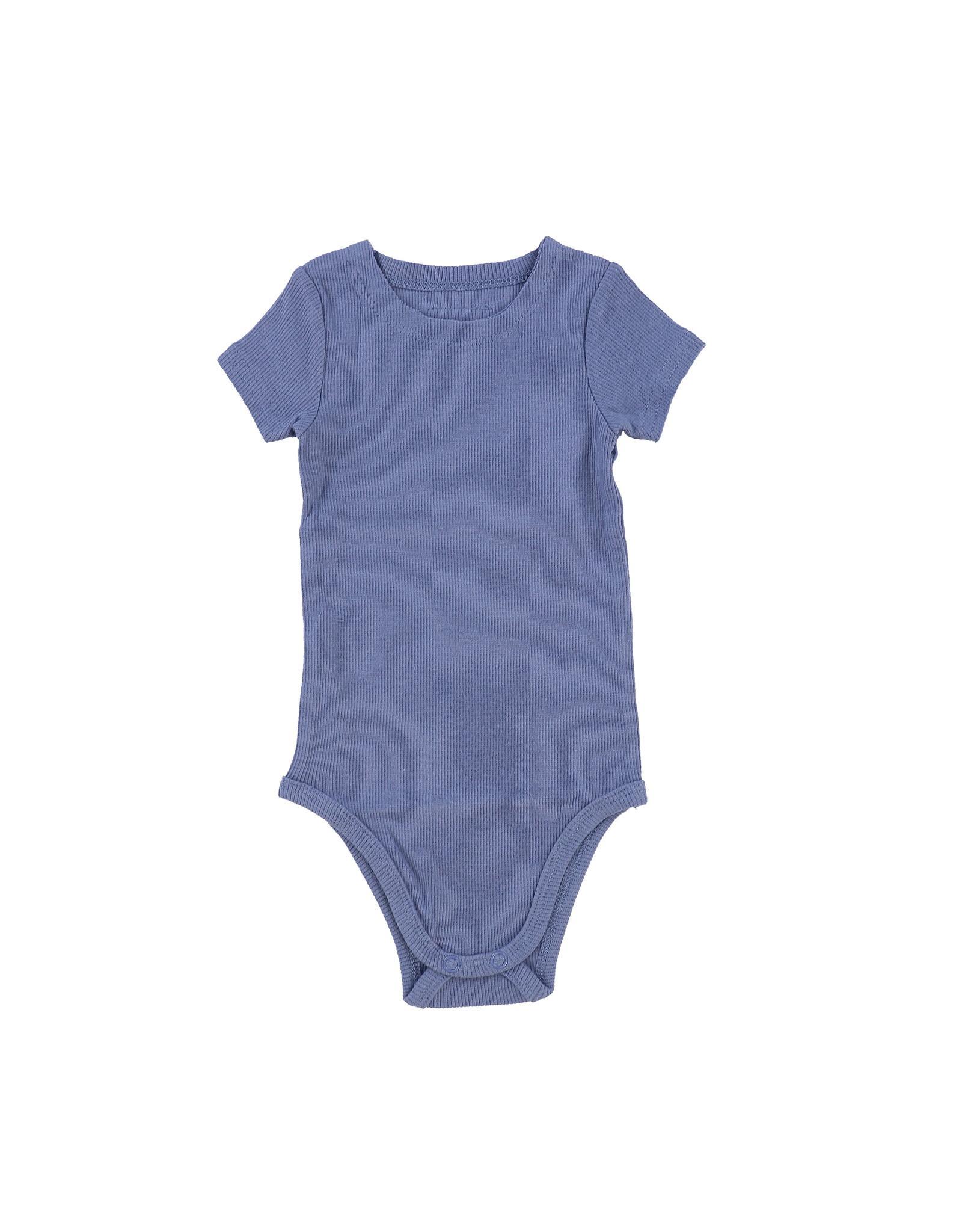 LIL LEGS SS20 Short Sleeve Rib Onesie