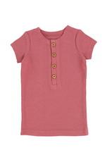 LIL LEGS SS20 Short Sleeve Center Button T-Shirt