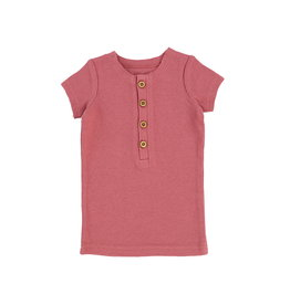 LIL LEGS SS20 Short Sleeve Center Button T-Shirt