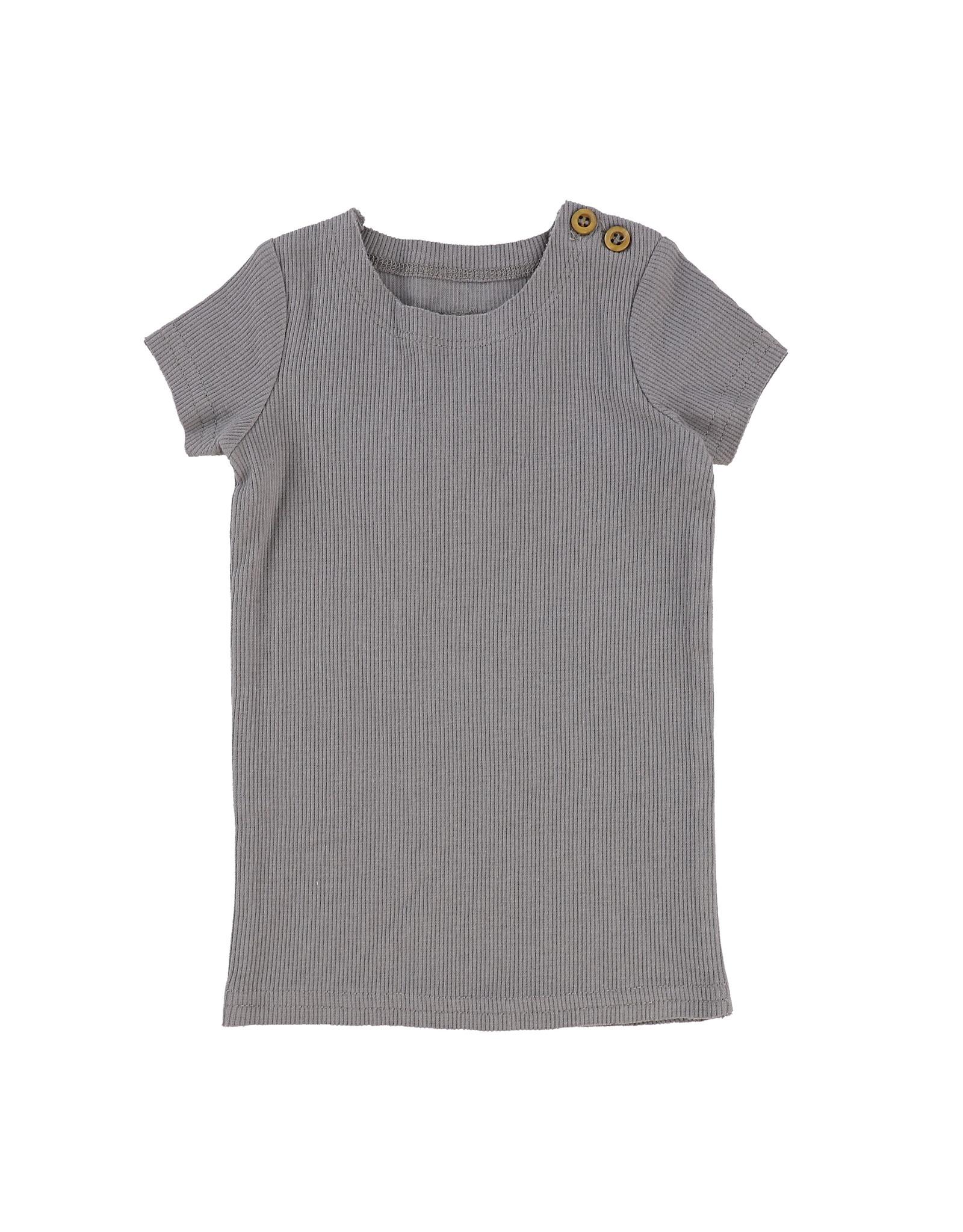 LIL LEGS SS20 Short Sleeve Ribbed T-Shirt