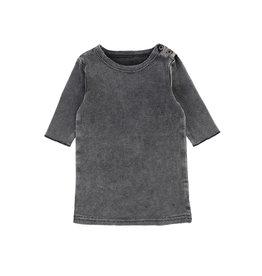 LIL LEGS SS20 Stonewash 3/4 Sleeve Ribbed T-Shirt