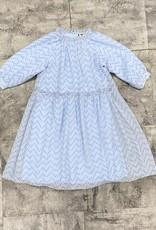 Miss Meme Miss Meme Polka Dot Ruffle Neck Dress