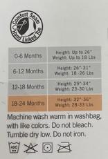 Memoi Memoi Baby Ribbed Cotton Tights