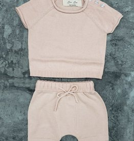 Bou Bar Bou Bar Shorts/Short Sleeve Knit Set