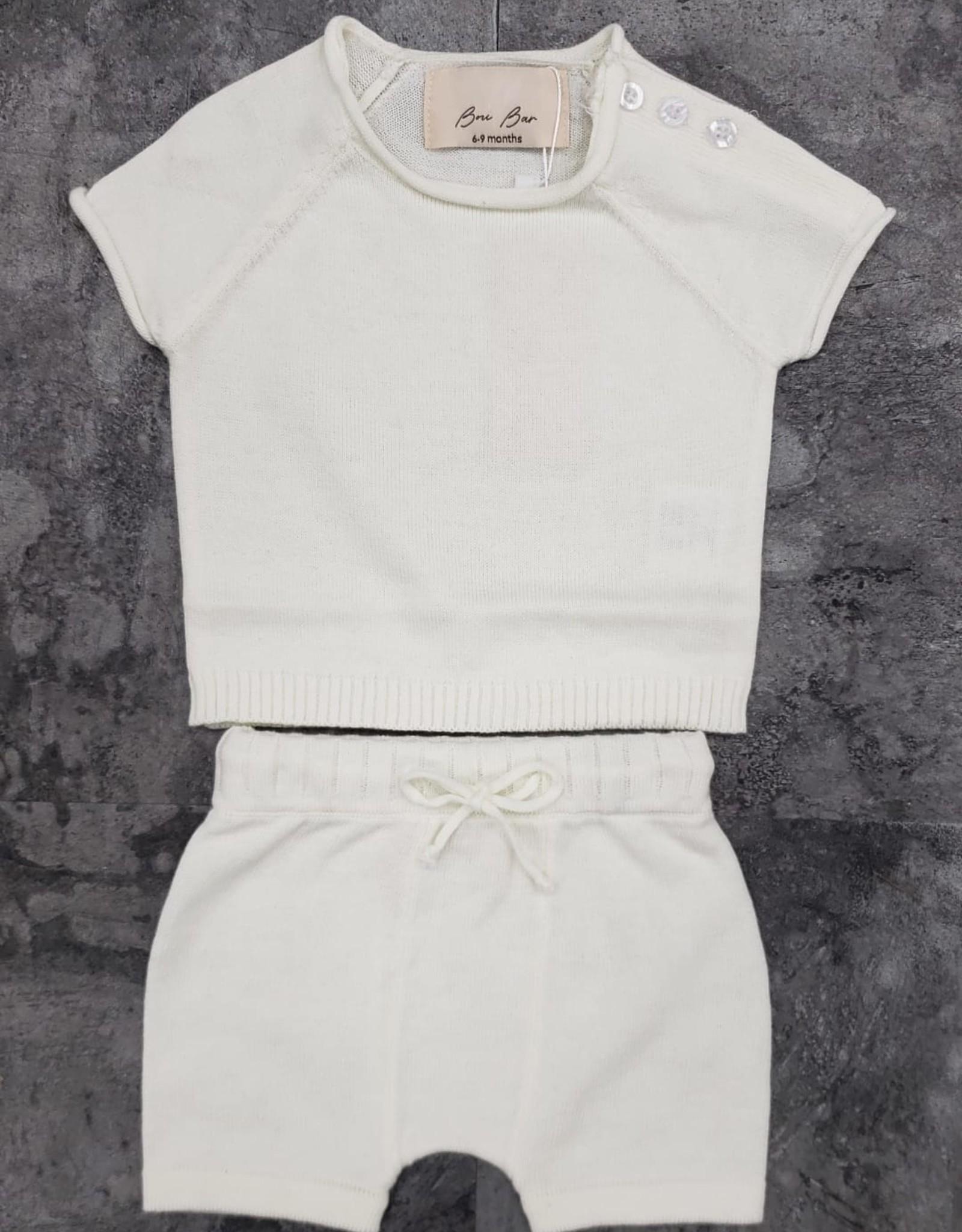 Bou Bar Bou Bar Shorts/Short Sleeve Knit Set