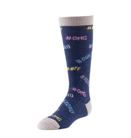 BimBam BimBam Hashtag Knee Sock