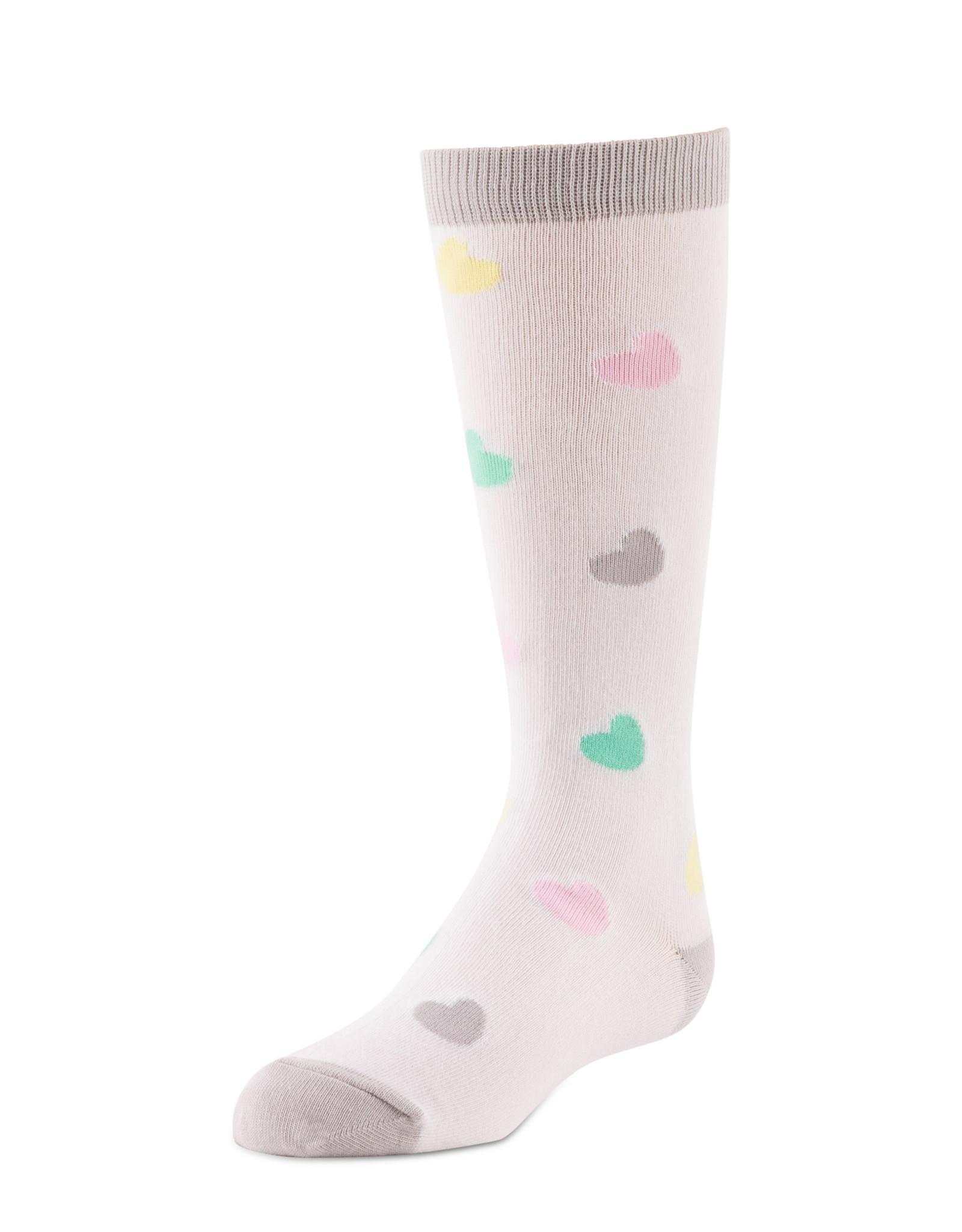 BimBam BimBam Hearts Knee Sock