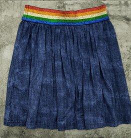 Smile Everyday Smile Everyday Rainbow Elastic Skirt