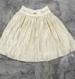 Big A Little a Big A Little a Metallic Two-Tone Skirt