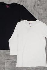 24/7 24/7 Ribbed 3/4 Sleeve Tshirt