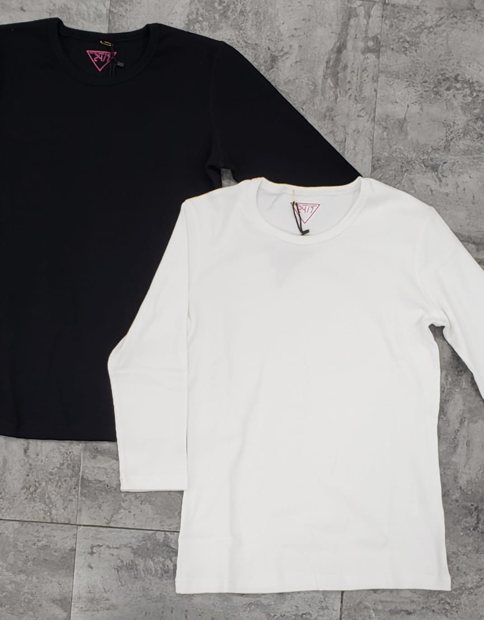 24/7 24/7 Ribbed 3/4 Sleeve Tshirt