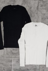 24/7 24/7 Wide Ribbed Long Sleeve Tshirt