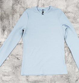 Riff Riff Ribbed Vee Neck 3/4 Sleeve Tshirt