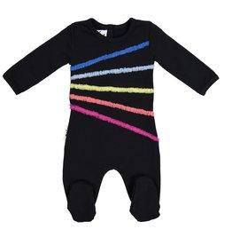 Maniere Maniere Rainbow Tulle Footie