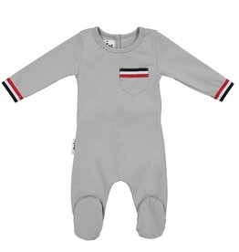 Maniere Maniere Sport Trim Footie with Pocket