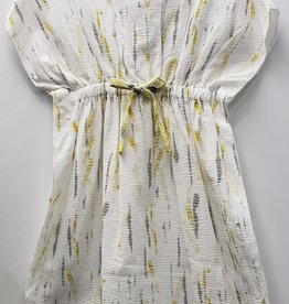 Big A Little a Big A Little a Crinkle Dress with Drawstring in Front