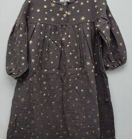 Petite Hailey Petite Hailey Gauzy Dress with Stars