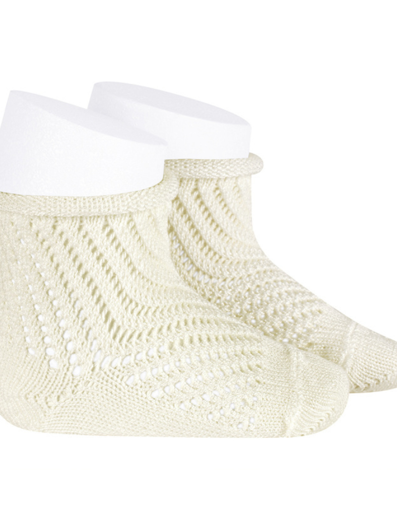 Condor Condor Crochet Sock with Rolled Cuff